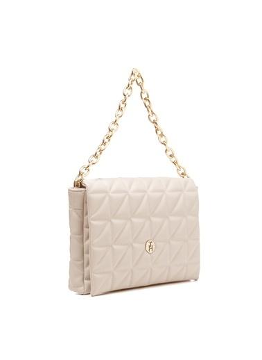TH Bags   Kadın Çapraz Çanta Th069700  Krem
